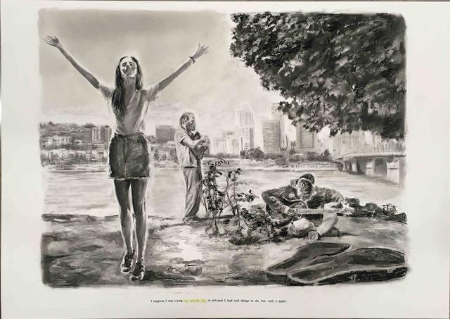 , 'Untitled (I suppose I was…),' 2018, Galerie Ron Mandos