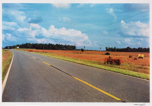 , 'Untitled (road with yellow lines),' 1976/2011, Gagosian Gallery