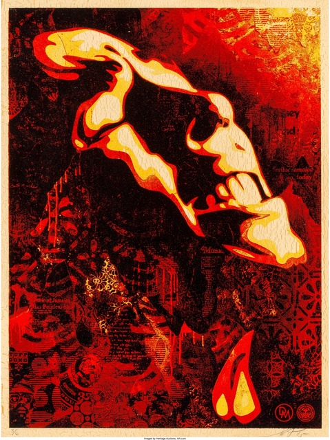 Shepard Fairey (OBEY), 'Bob Marley: Slave Driver', 2015, Heritage Auctions