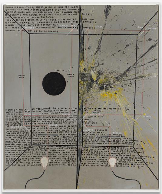 , 'A.O.: Elitzur - Vaidman Bomb Tester,' 2016, Galerie Guido W. Baudach