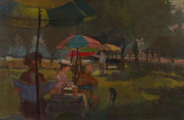 , 'People in a Park,' 1949, Christopher Kingzett Fine Art