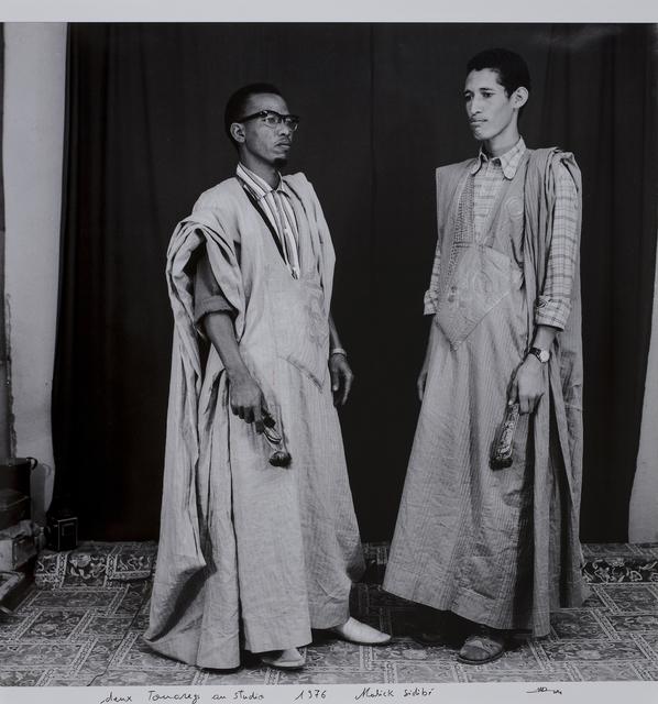 Malick Sidibé, 'Deux touaregs au studio', 1975-2014, Millon