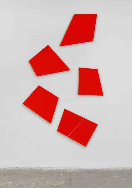 Imi Knoebel, 'Kadmiumrot 2', 1975, Galerie Fahnemann