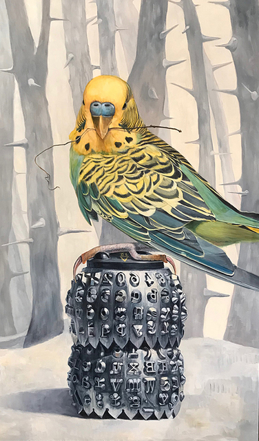 , 'Bird Stories,' 2018, Sue Greenwood Fine Art
