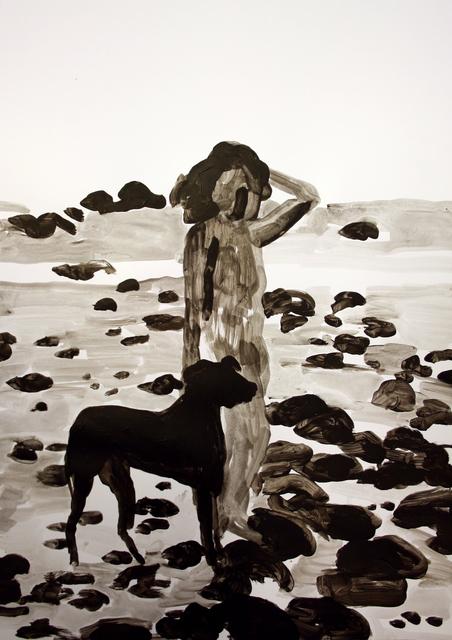 , 'Girl with a Dog,' 2018, Yiri Arts