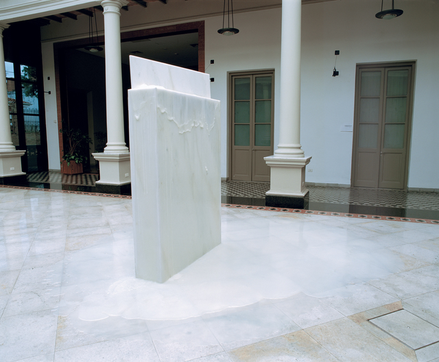 Nuno Ramos, 'Manora branco / White Manora', 1997, Sculpture, Polished marble and vaseline, Fortes D'Aloia & Gabriel