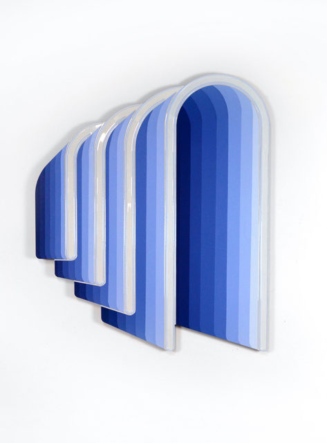 Jenna Krypell, 'Arches', 2020, Painting, MDF, resin and acrylic paint, Jonathan LeVine Projects