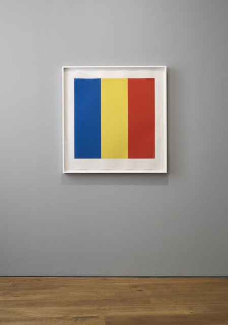 , 'Blue Yellow Red,' 1990, Ingleby Gallery
