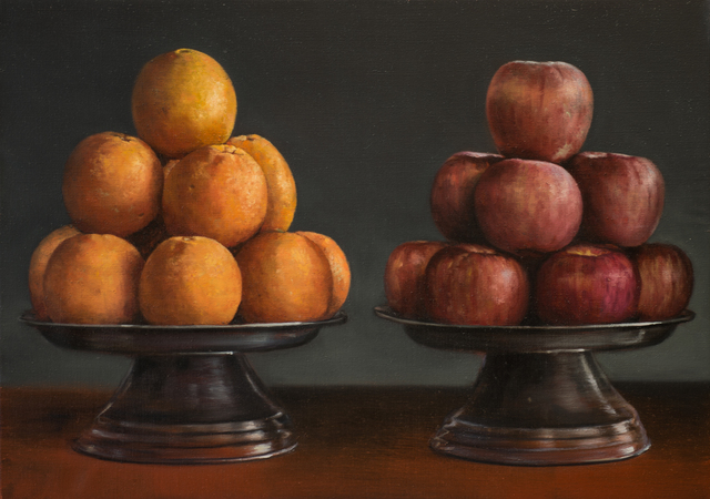 , 'Orange and apples,' 2017, CHOI&LAGER