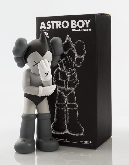 KAWS, 'Astro Boy (Grey)', 2012, Other, Painted cast vinyl, Heritage Auctions
