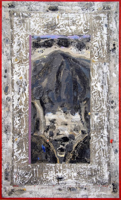 Nizar Sabour, 'MAALOULA', 2014, Painting, MIXED MEDIA ON CANVAS, Mark Hachem Gallery