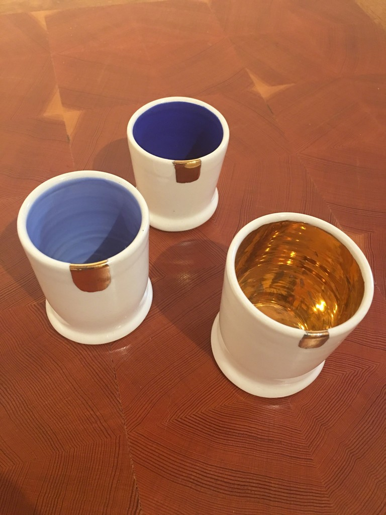 Shot Glasses by Carlos Dye, Ceramic