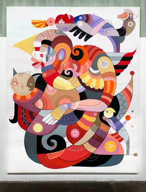 Fernando Chamarelli, 'The Big Enigma', 2014, Painting, Acrylic on canvas, ANNO DOMINI