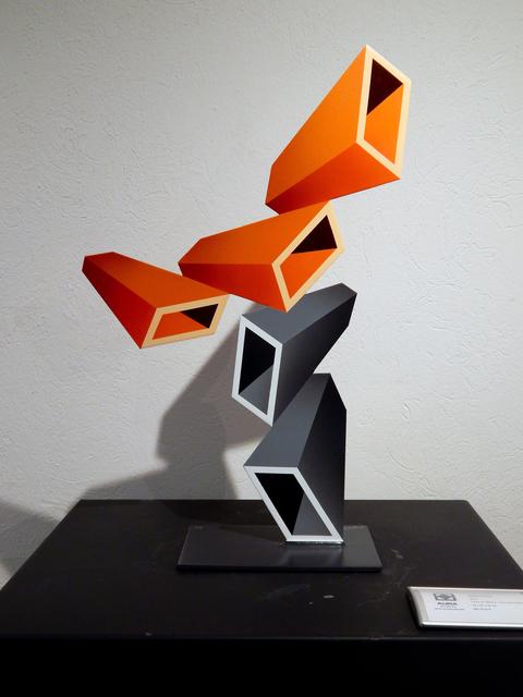 , 'Orange Perspective with Gra,' 2019, Aura Galerias