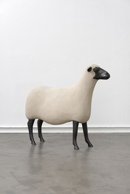 , 'Les Nouveaux moutons, Brebis,' 1995, Galerie Mitterrand