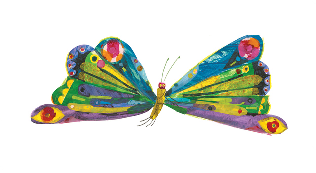 """, 'Illustration from """"The Very Hungry Caterpillar"""",' 1969 and 1987, High Museum of Art"""
