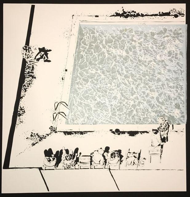 , 'Pool, 1968,' 2017, Davidson