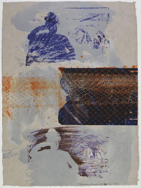 Robert Rauschenberg, 'Lounge Fence', 1993, Gemini G.E.L.
