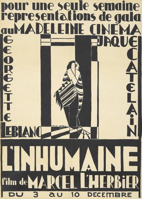, 'L'Inhumaine,' 1924, Rennert's Gallery