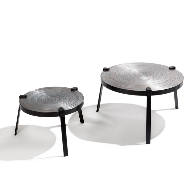 , 'Remetaled Nesting Tables,' 2016, Matter of Stuff