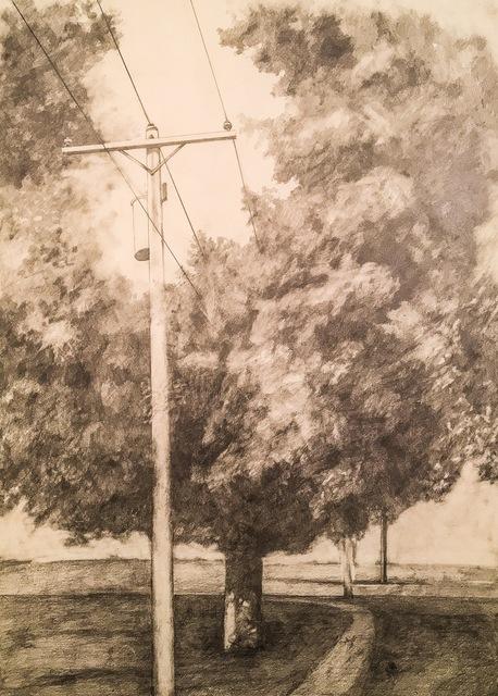 , 'Telephone Line II,' 2014, Cross Contemporary Art