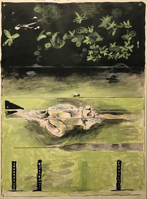 , 'The Swimmer,' 1973-1974, Osborne Samuel