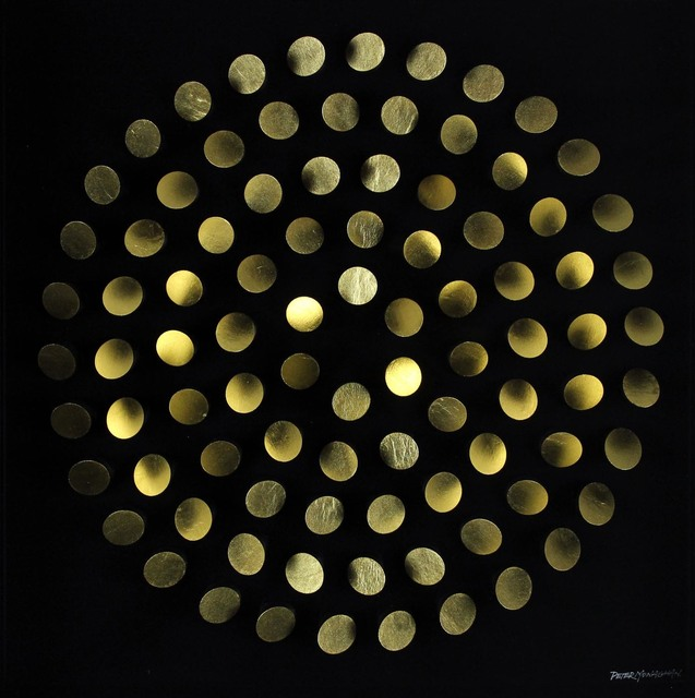 , 'Alternating Gold,' , Gormleys Fine Art