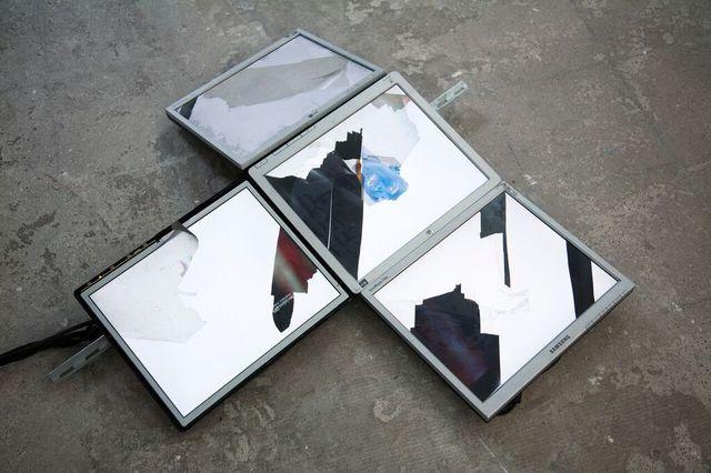 , 'VideoSculpture II (Victory Speech 2),' 2015, Harlan Levey Projects