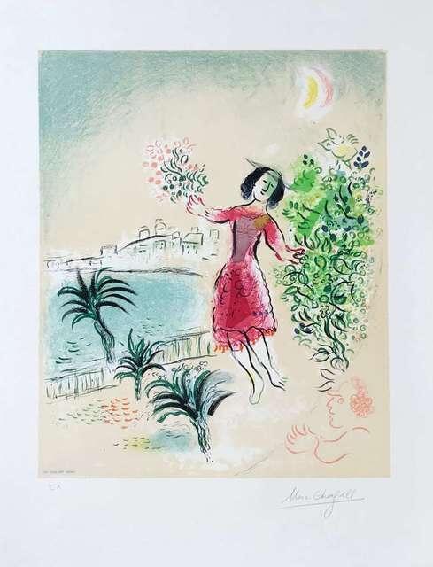 Marc Chagall, 'The Bay of Nice ', Hazelton Fine Art Galleries