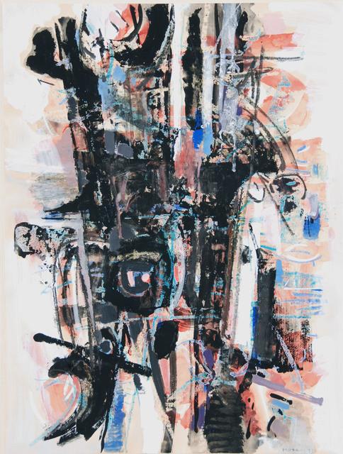 John Harrison Levee, 'Gouache XII/XXV', 1957, Painting, Gouache and oil pastel, Westbrook Modern