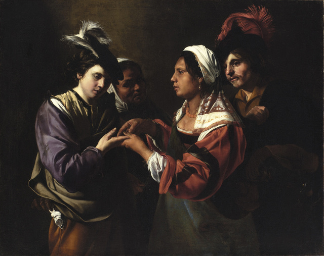 , 'The Fortune Teller,' 1615-1620, The National Gallery, London