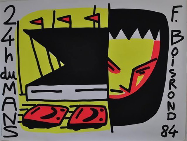 , '24h DU MANS,' 1984, Galleria Alfieri