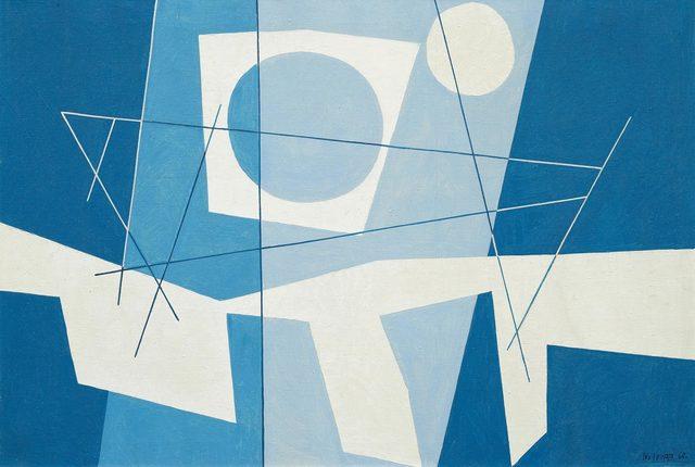 Leo Leuppi, 'Untitled', 1960, Painting, Oil on canvas, Koller Auctions