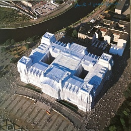 Wrapped Reichstag, Berlin (Hand Signed)