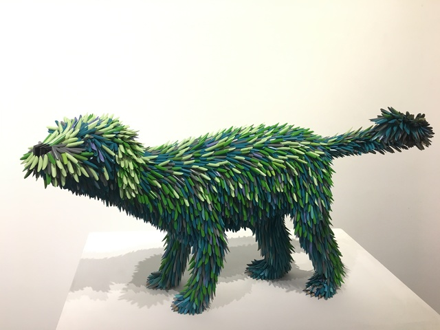 , 'Blue Pencil Dog,' 2019, Adelson Galleries