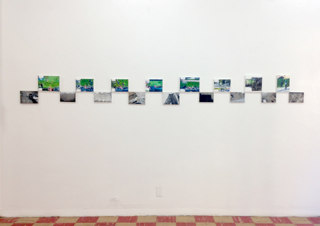 , 'Grassy Knoll / Camera Misfire,' 2015, Coagula Curatorial