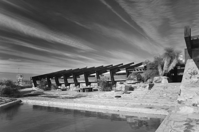 , 'Taliesin West, Frank Lloyd Wright, Scottsdale, AZ,' 1951, Yossi Milo Gallery