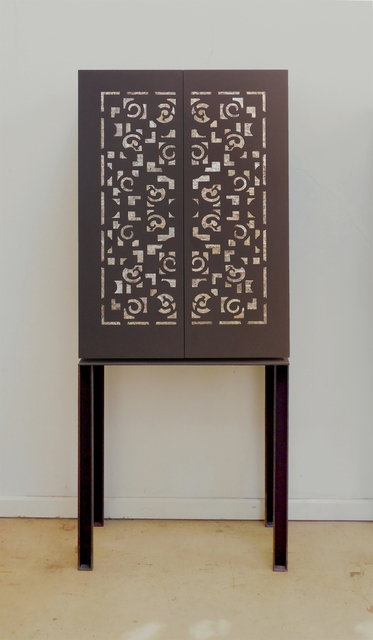 , 'Oriental Cabinet with Mother of Pearl,' , PILAR CLIMENT