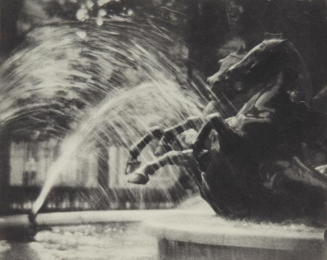 Pierre Dubreuil, ''Au Luxembourg' (La Fontaine de Carpeaux au Luxembourg)', 1912, Photography, Oil print, Sotheby's
