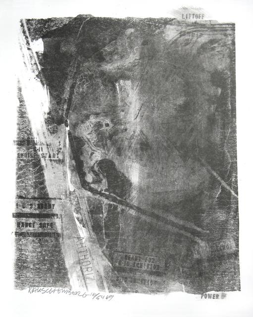 Robert Rauschenberg, 'Rack, Stoned Moon Series', 1969, Woodward Gallery