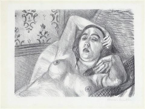 , 'Le Repos du Modèle,' 1926, Galerie Maximillian