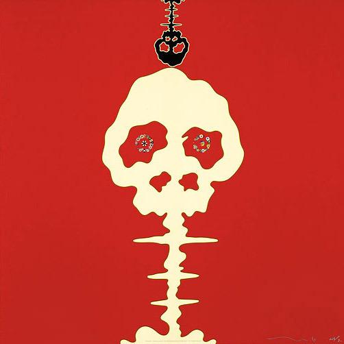 Takashi Murakami, 'Time Bokan- Missing in the Eyes- Red', 2006, MSP Modern