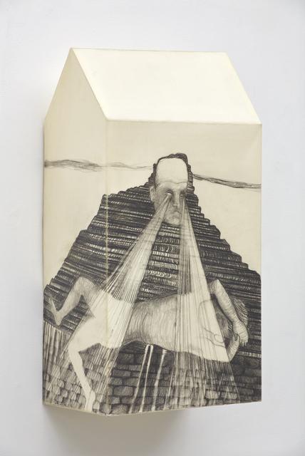, 'The Pieta of the Water Gardens (After Philip Johnson),' 2015, David Nolan Gallery