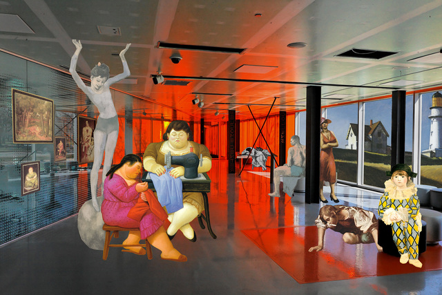 Artemis Potamianou, 'Re-view series: Harlequin ', 2011, IFAC Arts