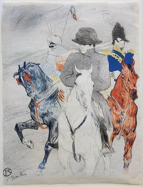 Henri de Toulouse-Lautrec, 'NAPOLEON (D. 358; ADR. 135; W. 140)', 1895, Print, LITHOGRAPH, Gallery Art