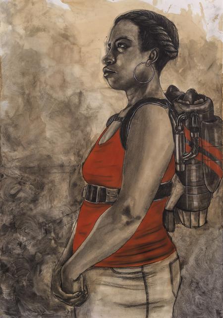 , 'Your Altitude Determines Your Attitude (Jet Pack Piece),' 2015, Koplin Del Rio