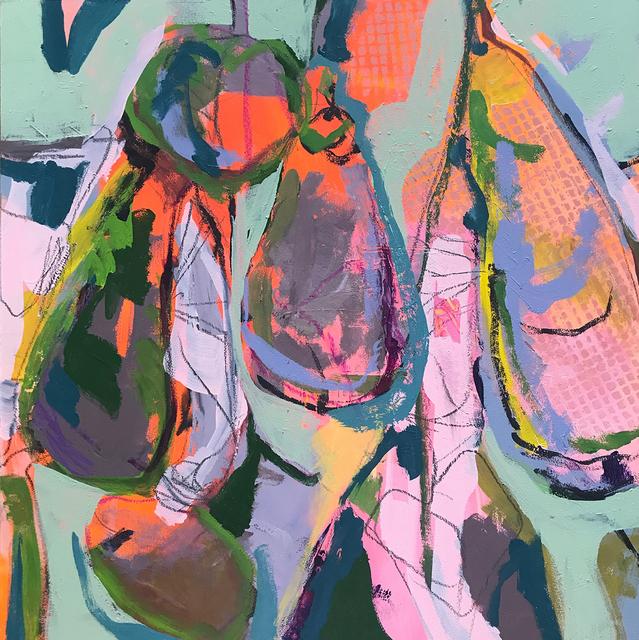 Elizabeth Stern, 'eggplant celedon', 2017, Pleiades Gallery