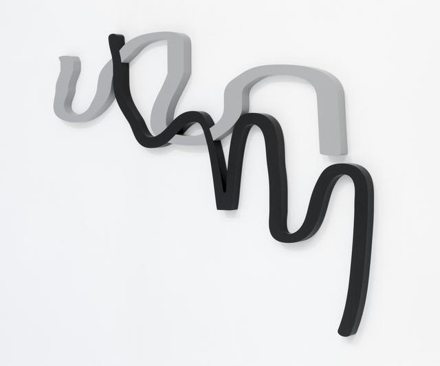 , 'MDF, lacquer,' 2011, Georg Kargl Fine Arts