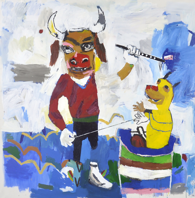 , 'Echar la risa al mar,' 2018, Galerie Heike Strelow