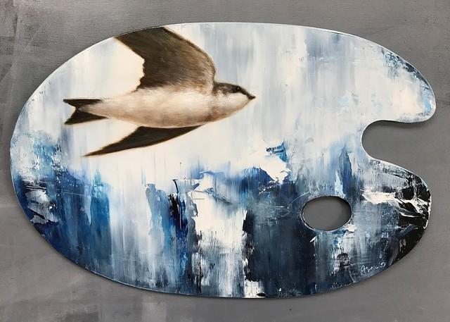 , 'In Flight,' 2017, Abend Gallery
